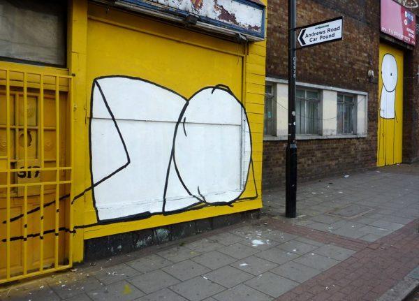 Recorremos el arte urbano de Stik por Londres