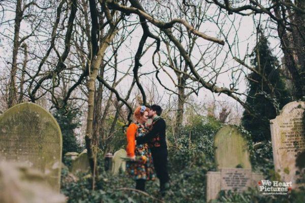 Cementerios con mucha vida