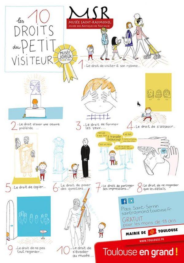 Los 10 derechos del pequeño viajero
