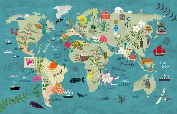 Martin Haake, mapas y ciudades ilustradas.